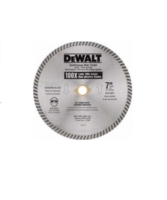 DISCO DIAMANTADO DEWALT 7